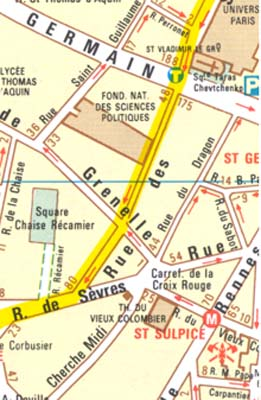 paris walking tour map pdf